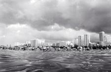 Seconds before the Start of Women's Triathlon, Waikiki, Hawaii (B-107)
