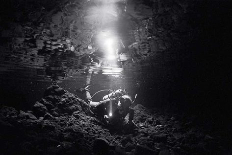In a Fresh Water Cave (SP-76)