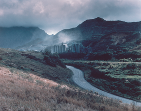 Road to Quarry, Hawaii, 1985 (HR-03)