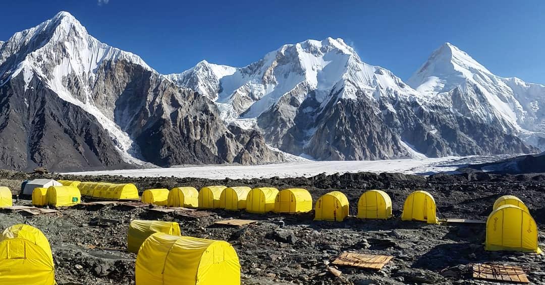 Khan Tengri & Pobeda Base Camp