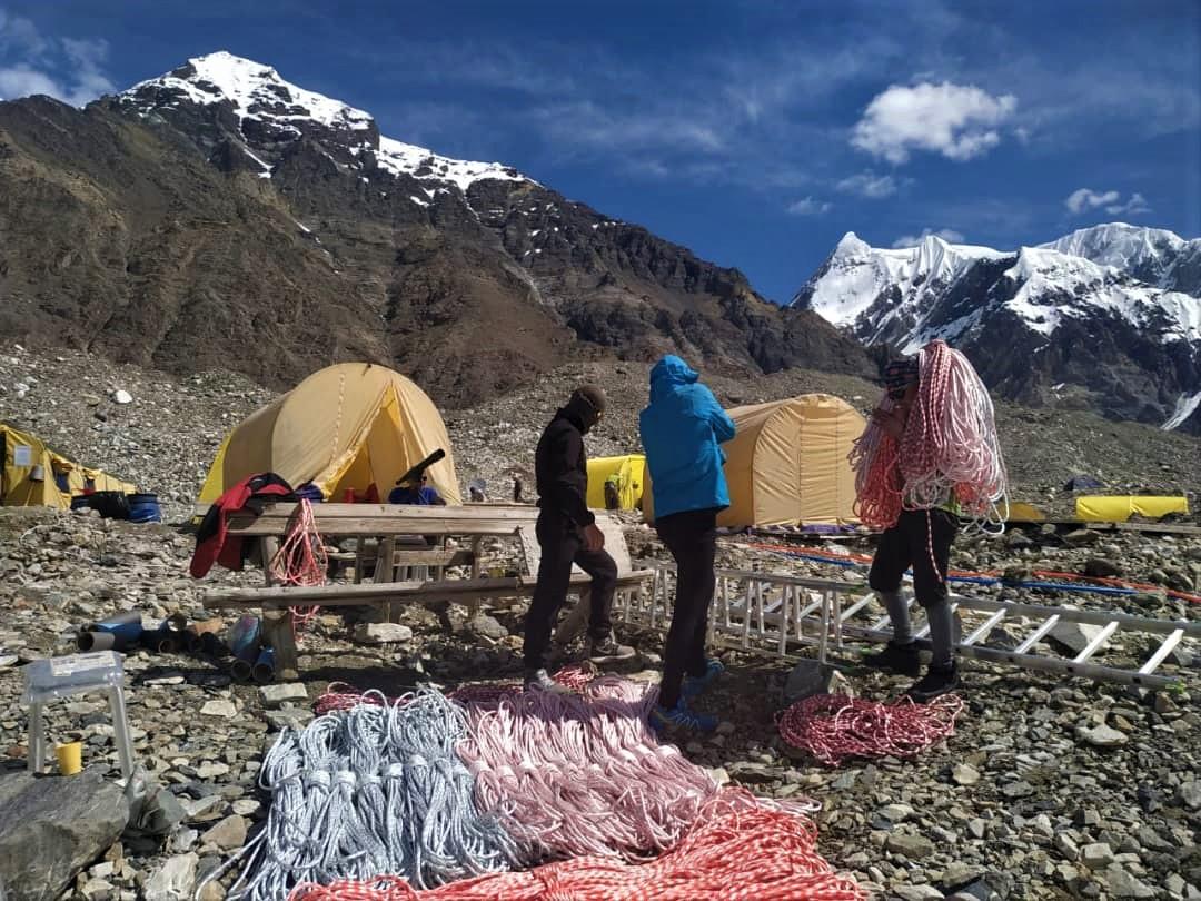 Khan Tengri North Base Camp