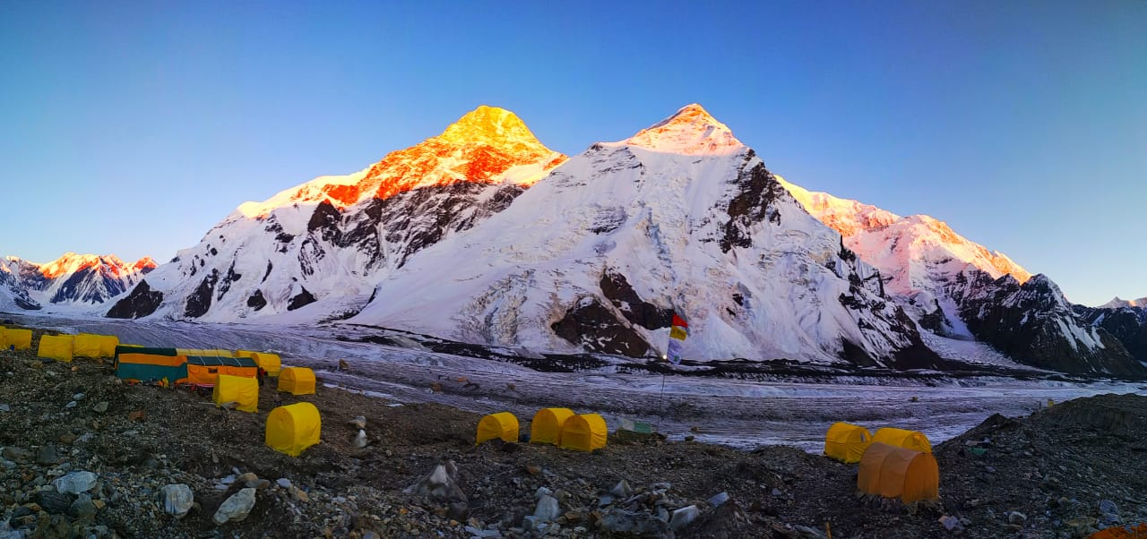 North Khan Tengri Aksai Camp