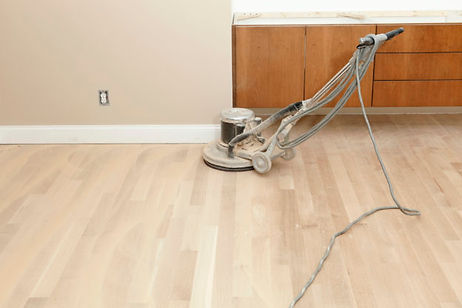buffing wood floors calgary