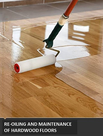 RE-OILING HARDWOOD FLOORS