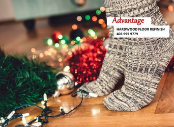 How wood floor refinishing is the best choice for Christmas?
