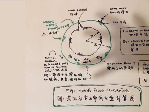 Noah's Flood: A Hydrological Calculation