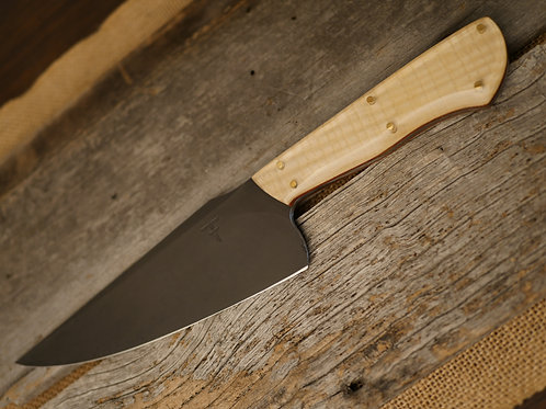 Fighter Chefs Knife - Optik Wood Curly Maple
