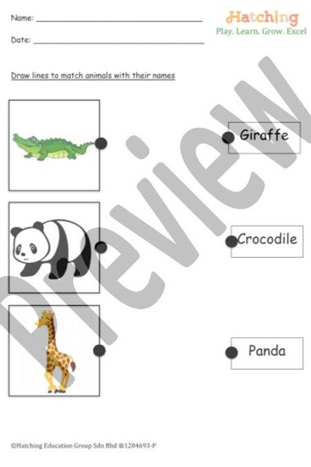 Animals Name - 1
