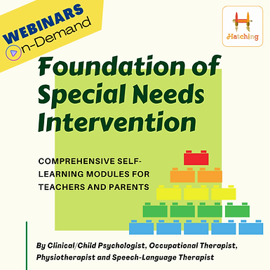 Foundation of Special Needs Intervention