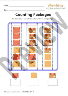 Quantity Counting - Packages