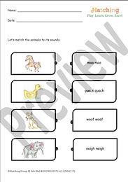 Animal Sound Match - 2