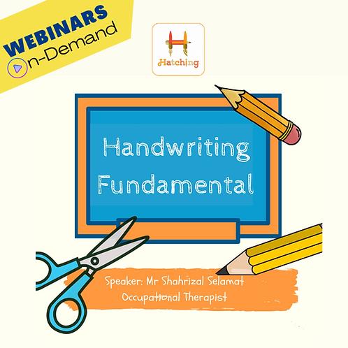 Handwriting Fundamental