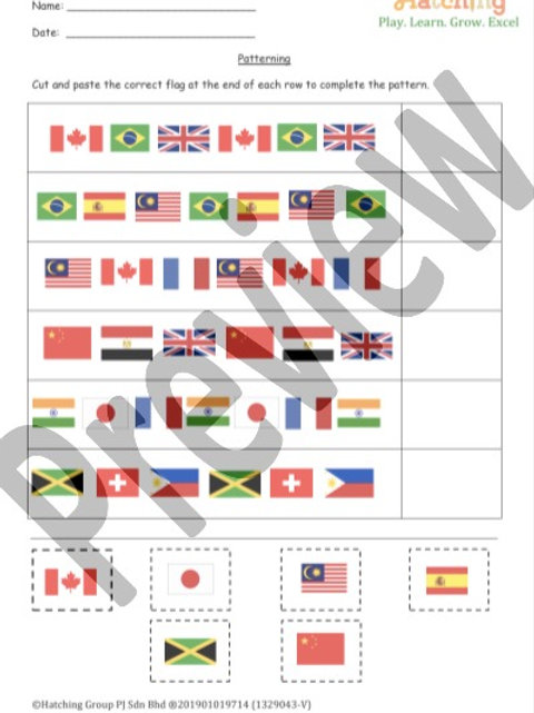 Patterning - Flags