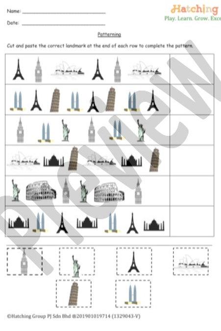 Patterning - Landmarks