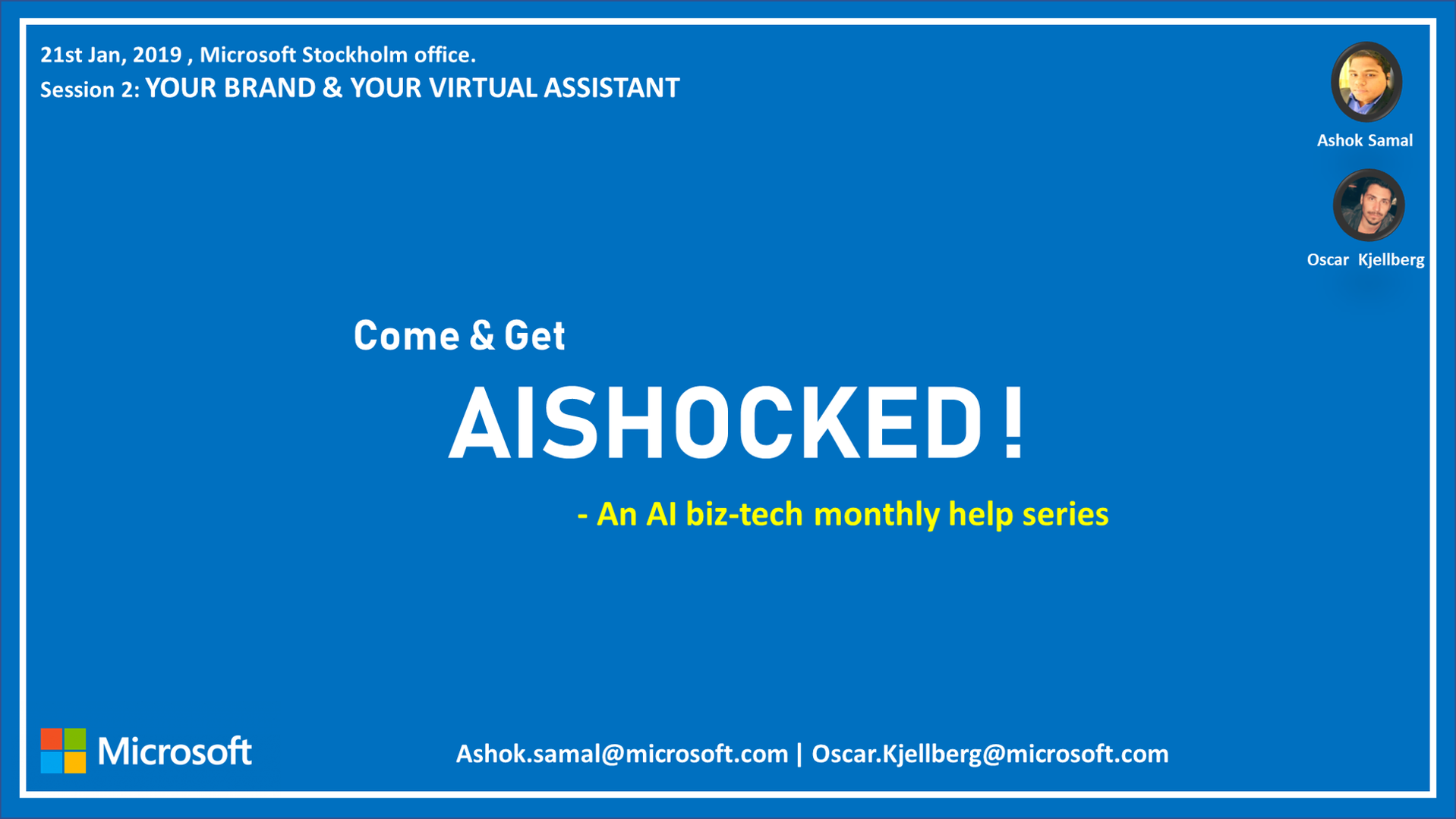 AI-SHOCKED - Your Brand & Your Virtual Assistant