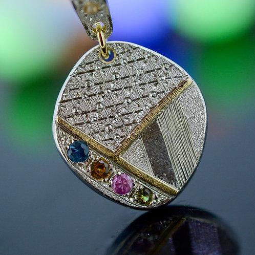 Fancy Sapphire Pendant