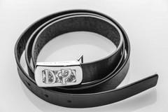 Belt with initials