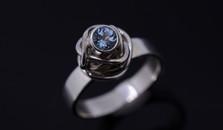 Frozen Rose Ring