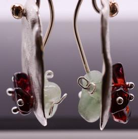 Pomegranate Earrings