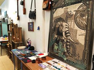 Designer shop in Nantes, France