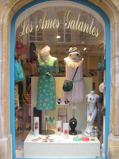 DanaBassotta accessories in Les Ames Galantes designer store in Metz, France
