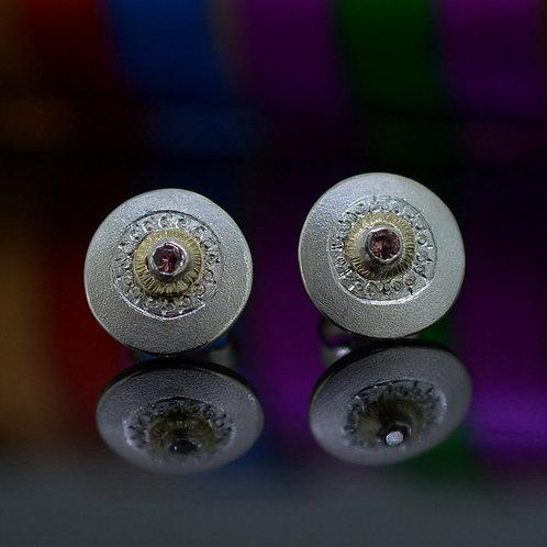Cognac Sapphire Earrings