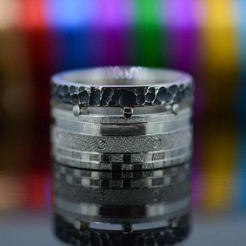 Engraved unisex Ring