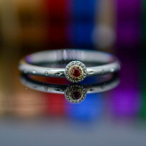 Sapphire delicate Ring