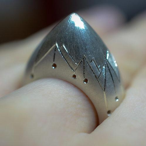 Mountain Ring, unisex