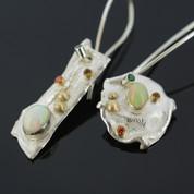 """Rainbow earrings"""