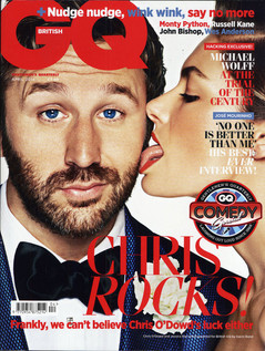 Danabassotta bow tie in GQ UK magazine