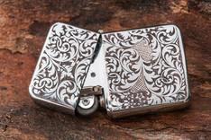 Ornamental lighter engraving