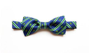 Nostalgia pre tied silk bow tie