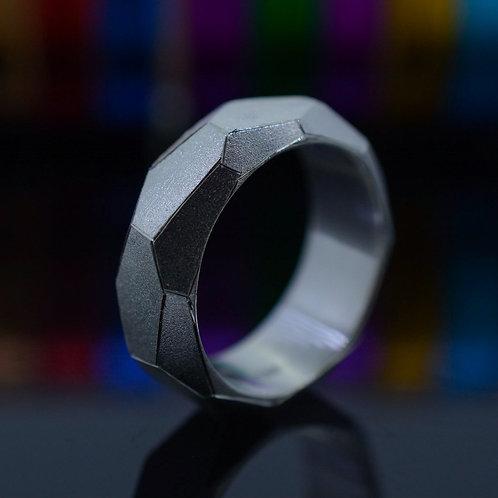 Honeycomb Ring, unisex