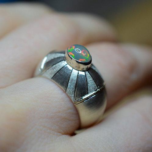 Deco Opal Ring