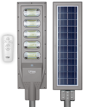 Luminaria Led Solar LX1020/120W