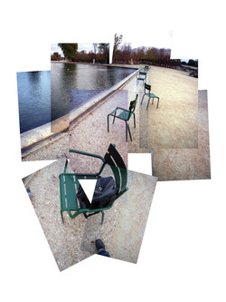 Chaises Jardin des Tuileries Paris