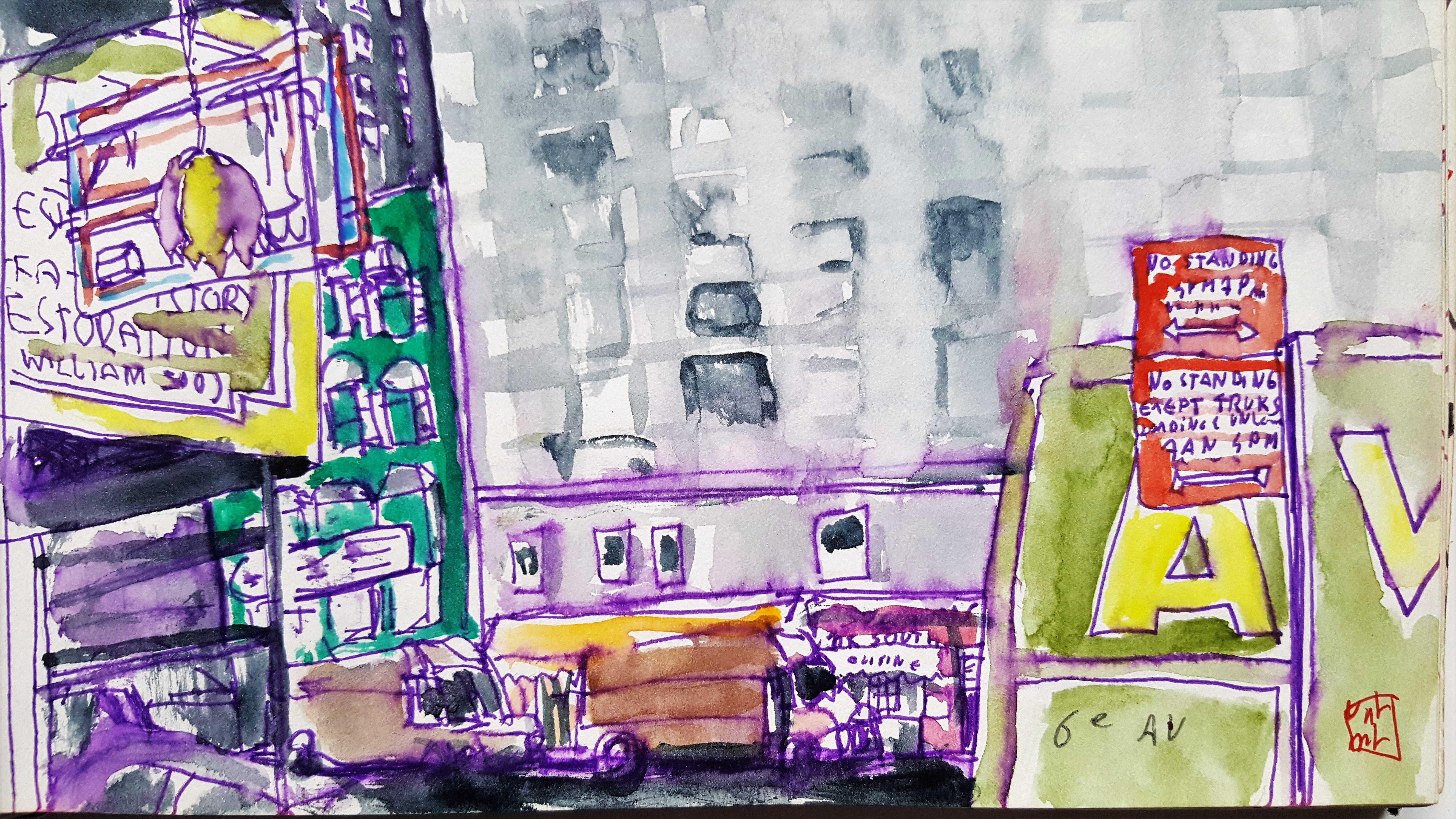 New-York 6e avenue