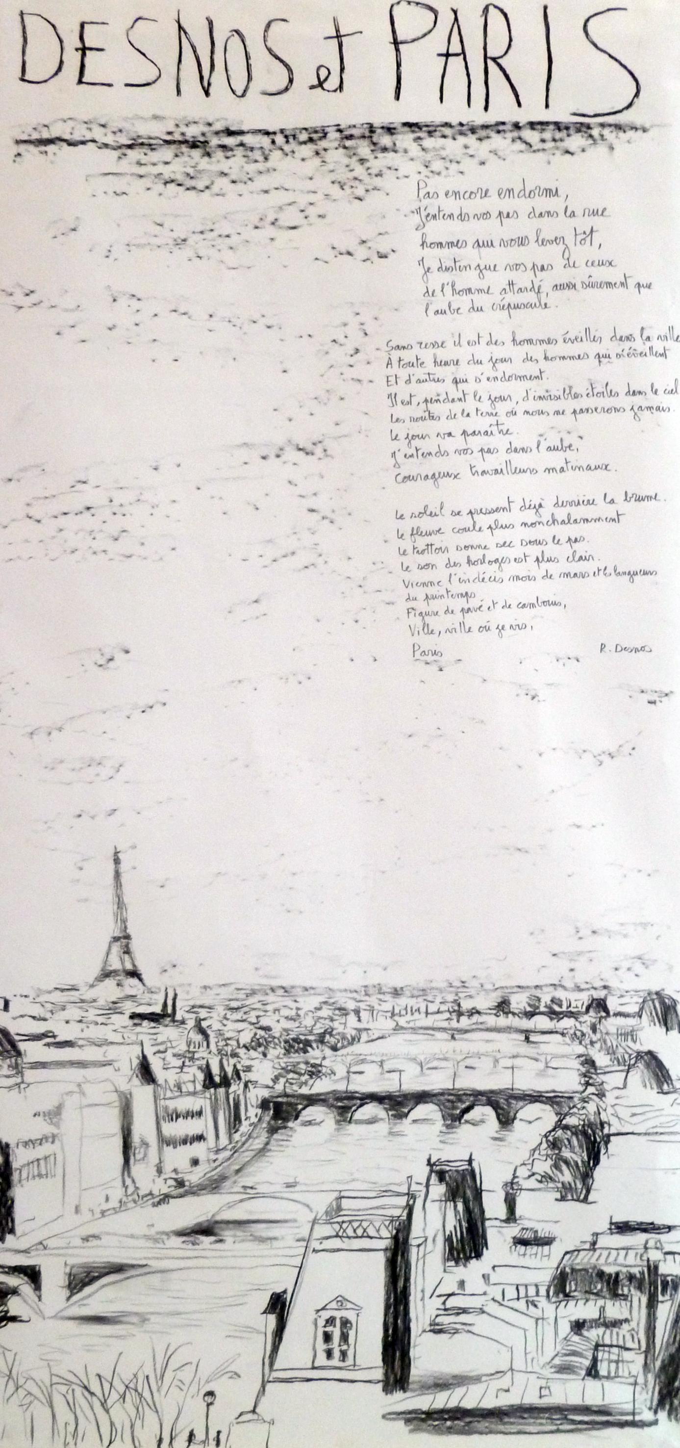 desnos et Paris