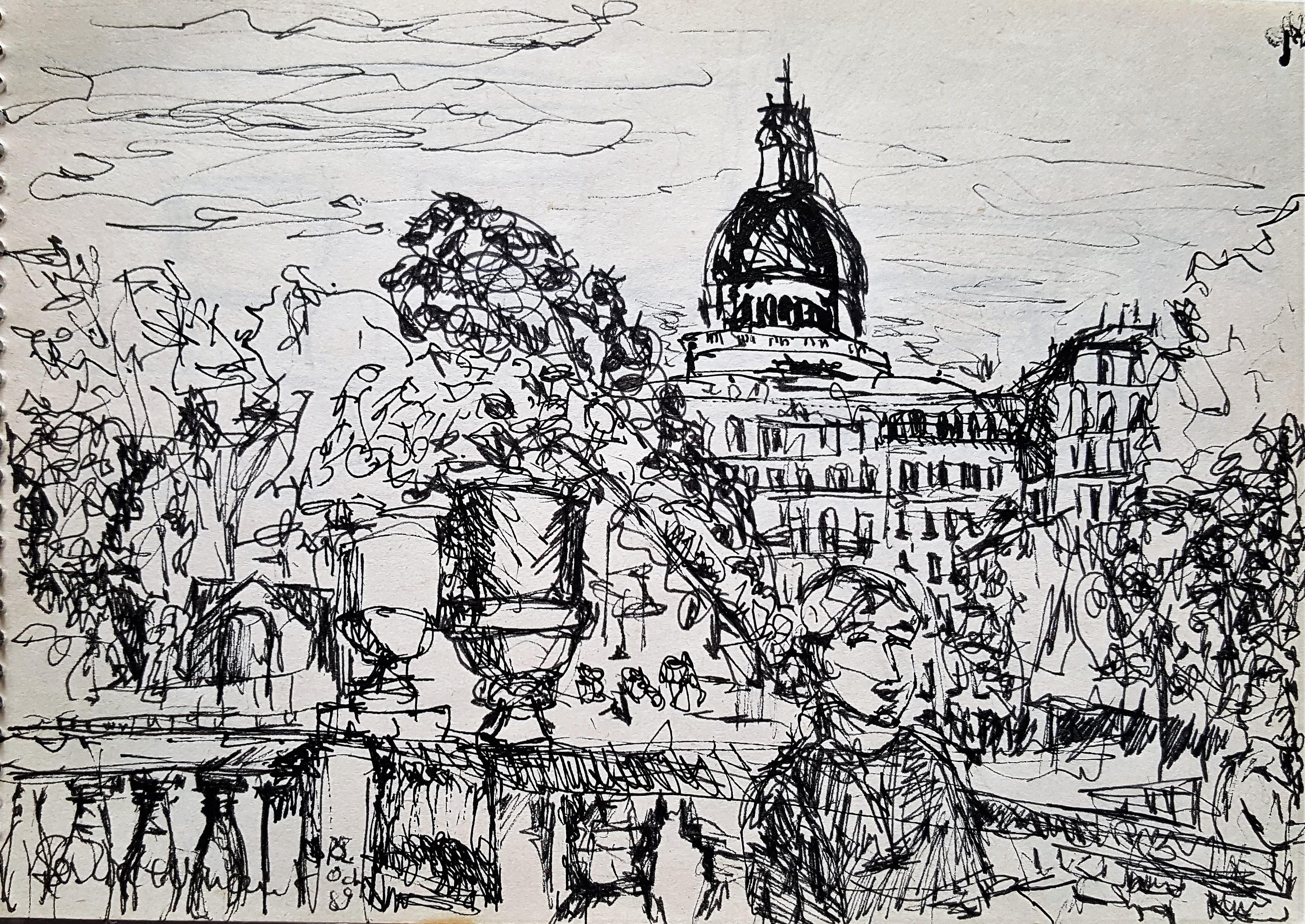 Jardins du Luxembourg saskia Paris