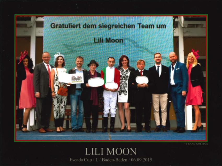Lili Moon gewinnt Listenrennen