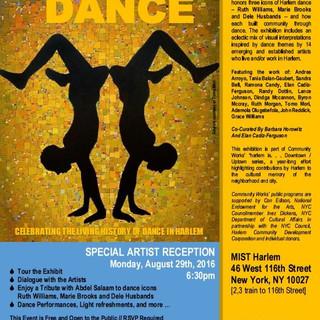 harlem is... DANCE poster