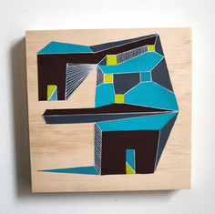 Building Abstraction on wood _1