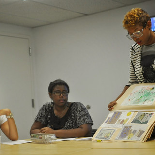 Teen Art Workshop Discussion