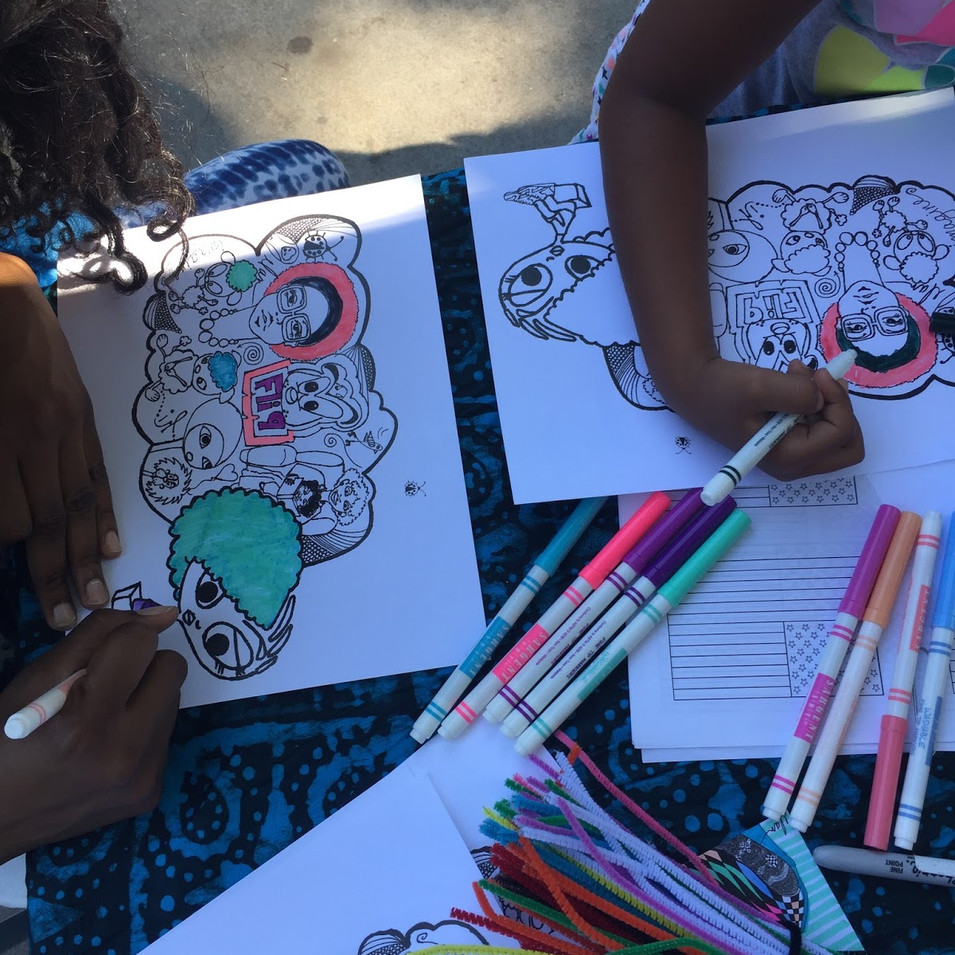 Children coloring pages designed by Elan