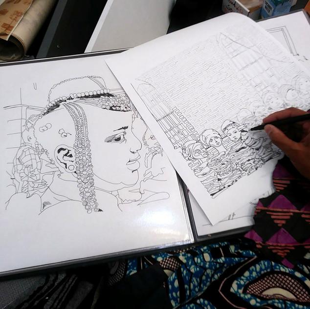 Drawing study