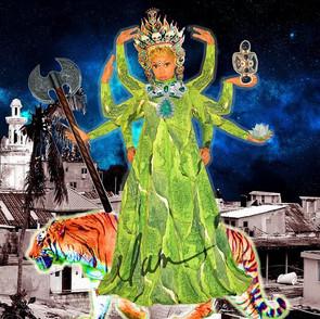 Elan as Durga