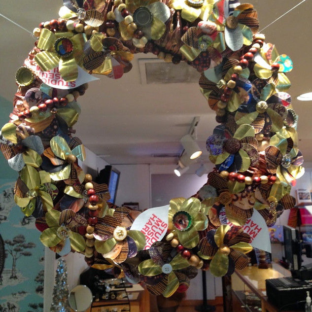 Recycled Wreath Decoration