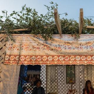 sukkah entrance