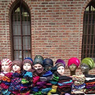 Headscarves on Lenox
